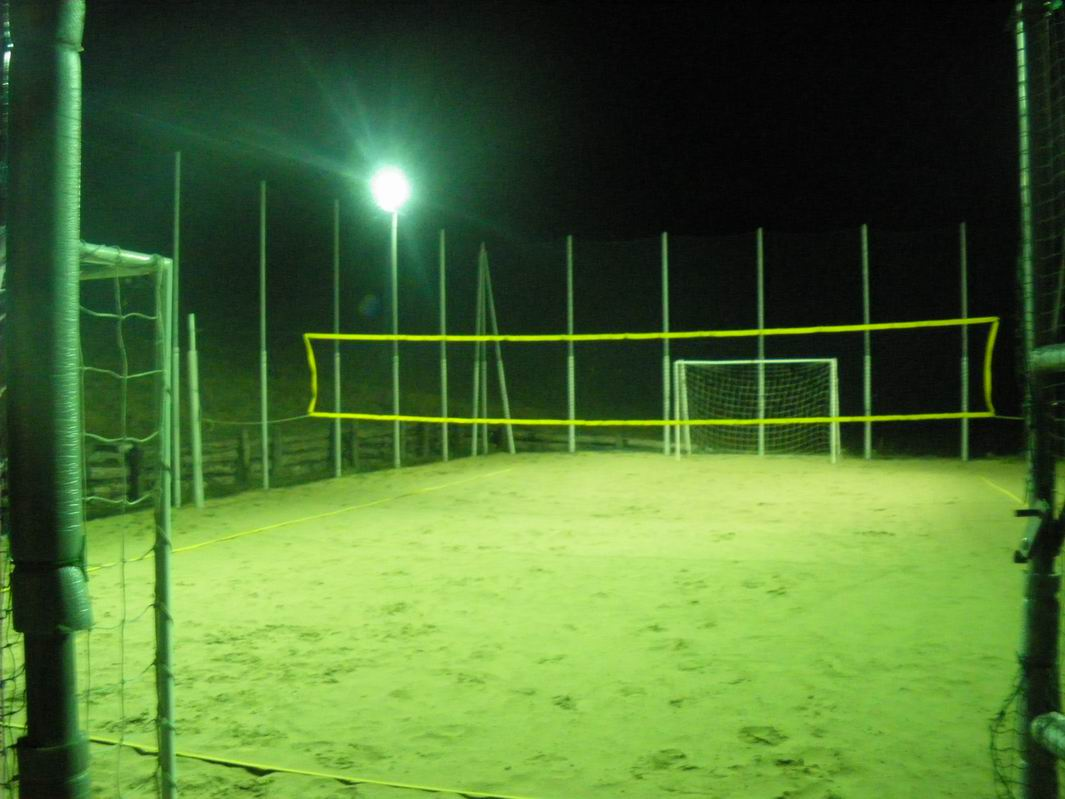 Beach volley soccer tennis